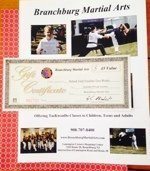 Branchburg Martial Arts $45