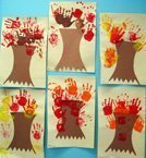 Preschool Fall Artwork