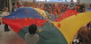 Sports for Preschoolers-Parachute