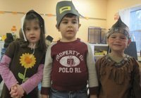 Thanksgiving Trio at NBRC Preschool