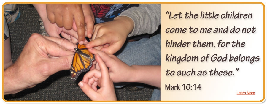 Let the little children come to me and do not hinder them, for the kingdom of God belongs to such as these. Mark 10:14